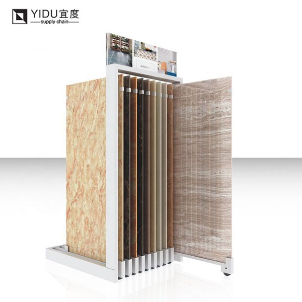 Push-pull Tile Display Stand, Tile Showroom Display Stands