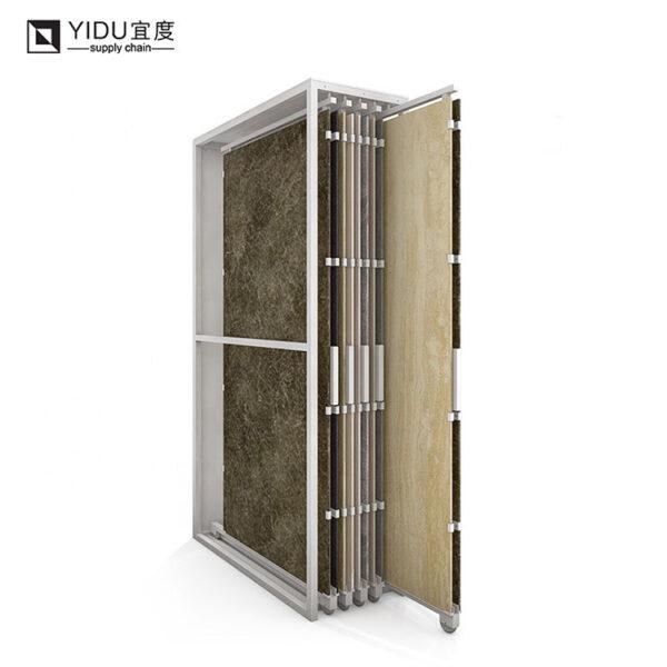 Wholesale Granite Marble Ceramic Tile Metal Display Racks For Showroom