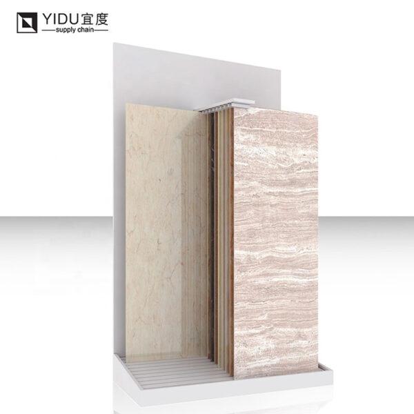 Hanging Tile Showroom Display Stands, Sliding Ceramic Tile Display Rack