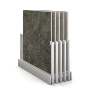 Ceramic Tile Display Rack Metal Rotating Display Rack For Showroom Display Rack