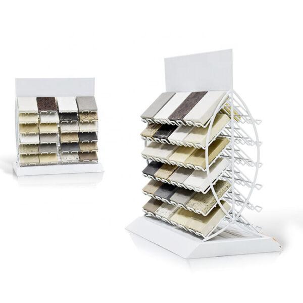 Quartz Stone Countertop Display, For Marble Tile Granite Display Metal Rack
