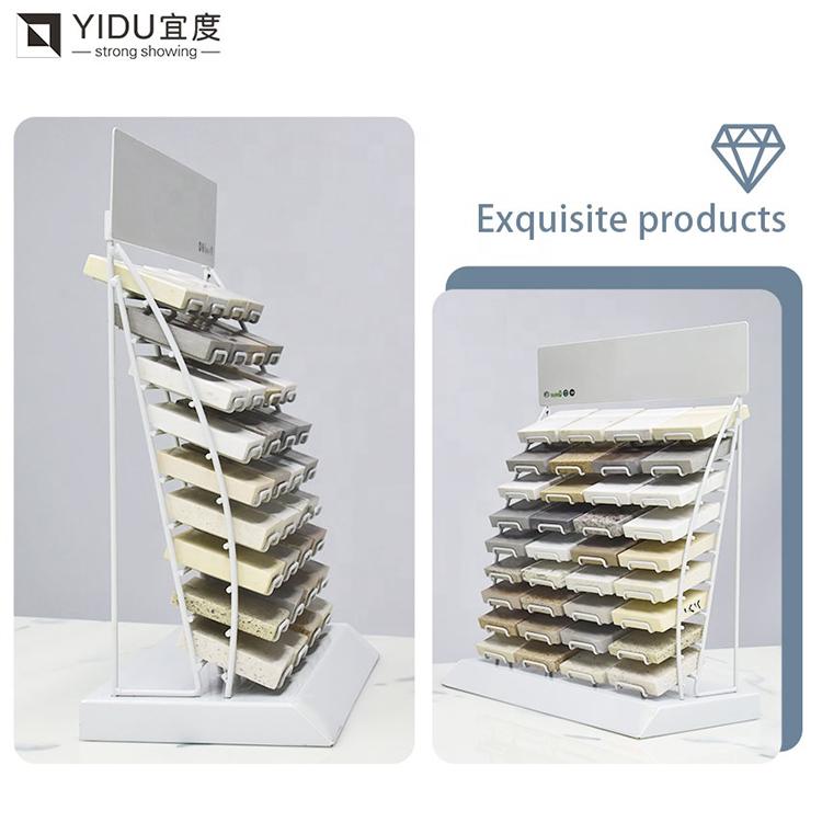 Countertop Stone Display Rack Wholesale, Quartz Stone Marble Tile Shelf