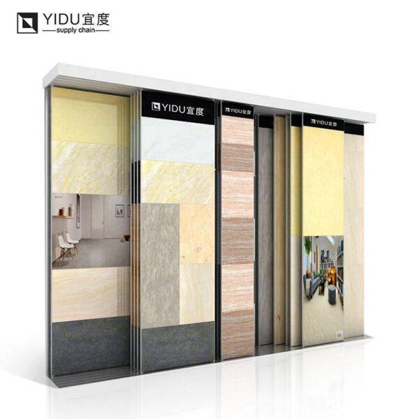 Cheap Ceramic Tile Granite Marble Metal Display Stand For Sale