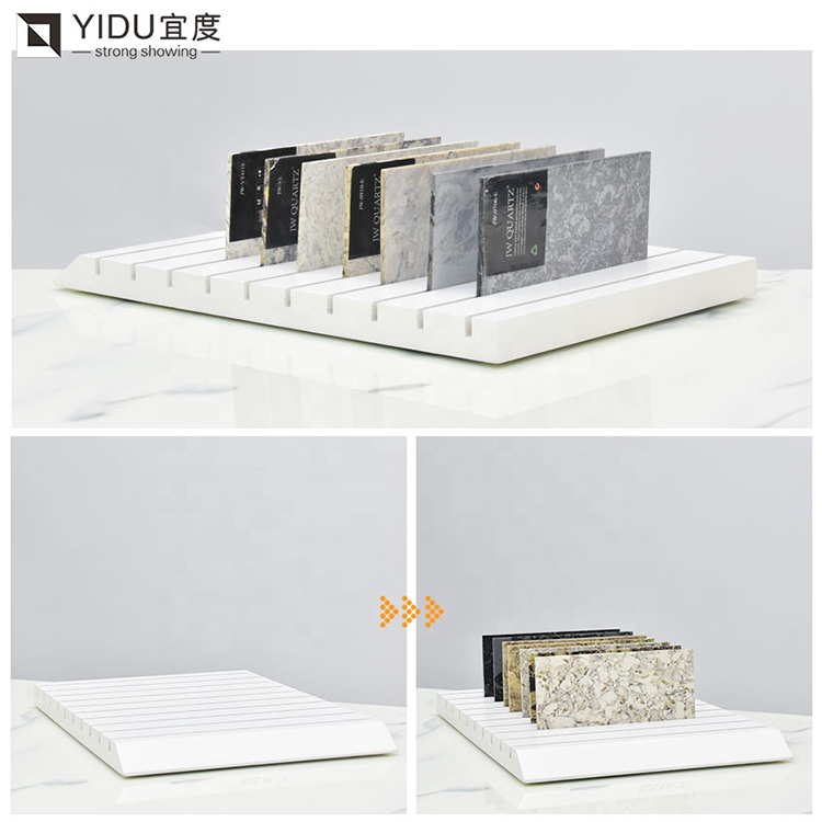Quartz Stone Tabletop Display Stand