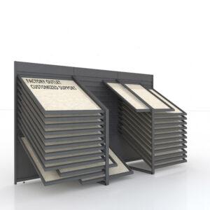 Floor Tile Display Rack