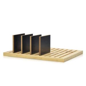 Wooden Counter Display Stands For Wooden Floor Tile Display