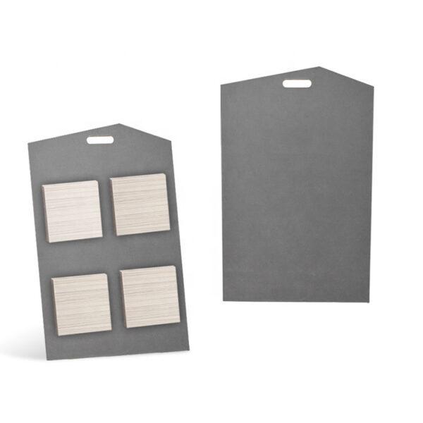 Portable Ceramic Tile Sample Mdf Stone Panel Display Board