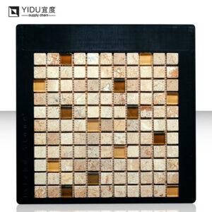 Black Display Board Mosaic Tile Mdf Panel