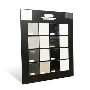 Custom Mdf Board Granite Tile Sample Hanging Display Board