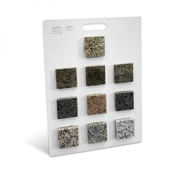 Portable Mosaic Tile Marble Sample Mdf Panel Display Board