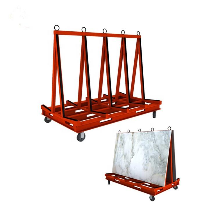 Stone Transportation Frame For Mable Granite Slab Glass A Frame Storage Rack