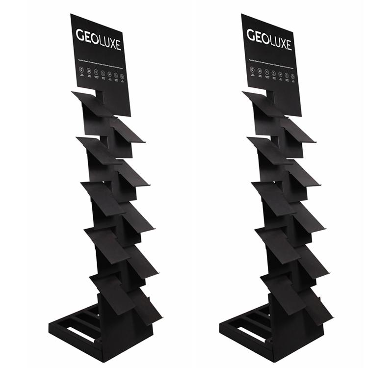Marble Slab Display Rack for Showroom Exhibition