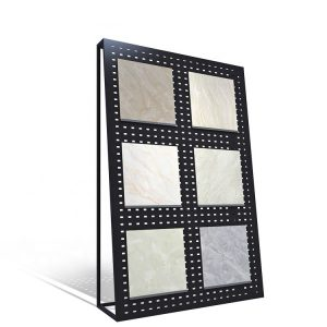 Custom Marble Granite Tile Wall Slab Stone Display Stand For Different Size