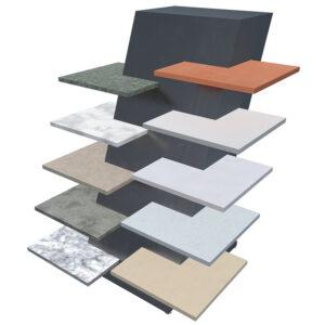 Quartz Stone Display Rack, Special Marble Rack