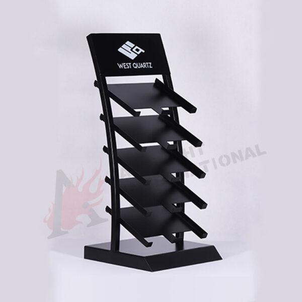 Cambria Quartz Displays Racks,Marble Stone Display Rack Custom