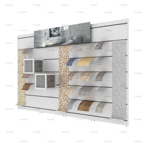 Exhibition Hall Mosaic Tile Display Rack