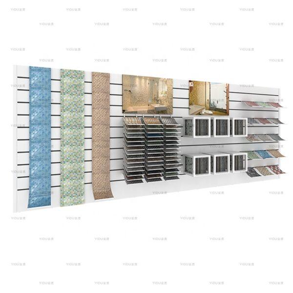 Wall-mounted Mosaic Tile Sample Display Stand