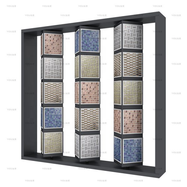 Custom Mosaic Rotating Display Stand