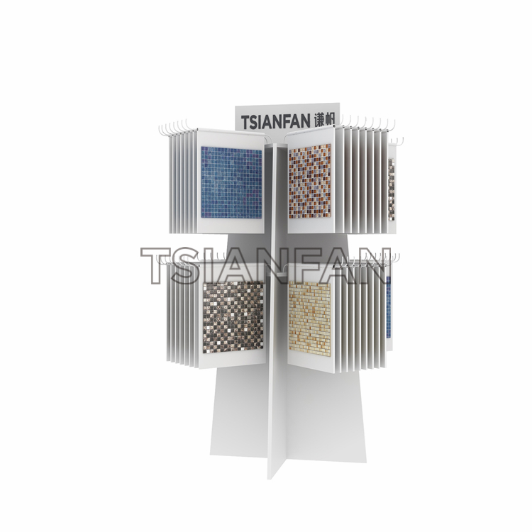Mosaic Tile Sample Display Stand With Pulley Metal Stand MF006