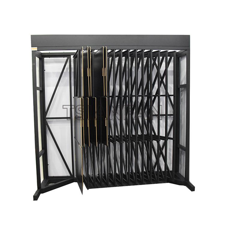 Mosaic Tile Board Flip Metal Display Rack For Showroom Display MF008