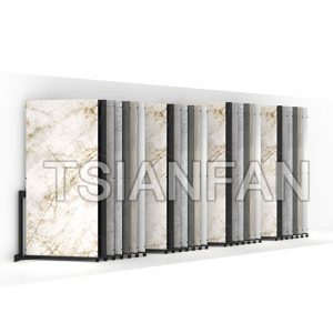 Tile Slab Display Rack,Granite Slab Sliding Display Rack Supplier