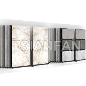 Granite Slab Sliding Display Stand,Sintered Stone Display Rack