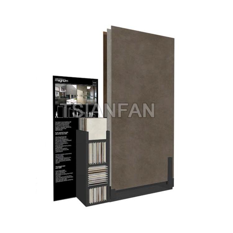 Large Ceramic Tile Slabs Display Stand
