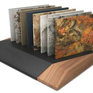 Ceramic Tile Stone Tablet Display Rack For Showroom